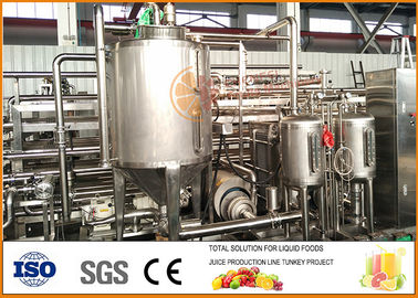Cina 6T / hari Juice Paste Jam Tube in Mesin Sterilisasi Tube pabrik